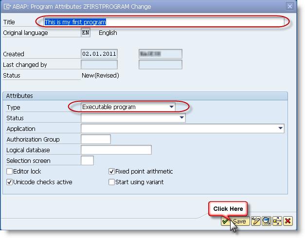 First-ABAP-Program-3