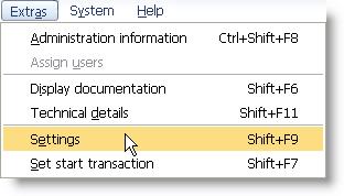 How to Display Tcodes in SAP Menu? - SAPHub